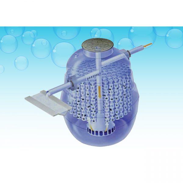 ถังบำบัดน้ำเสีย สำเร็จรูป AQUA ติดตั้งและดูแลรักษาง่าย ประหยัดค่าใช้จ่าย