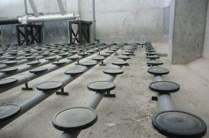 Disc Membrane Type Pci Hydrochek หัวจ่ายอากาศ แบบ Down