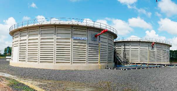 ถังเก็บน้ำ ACON tank หรือถังแผ่นคอนกรีตสำเร็จรูป